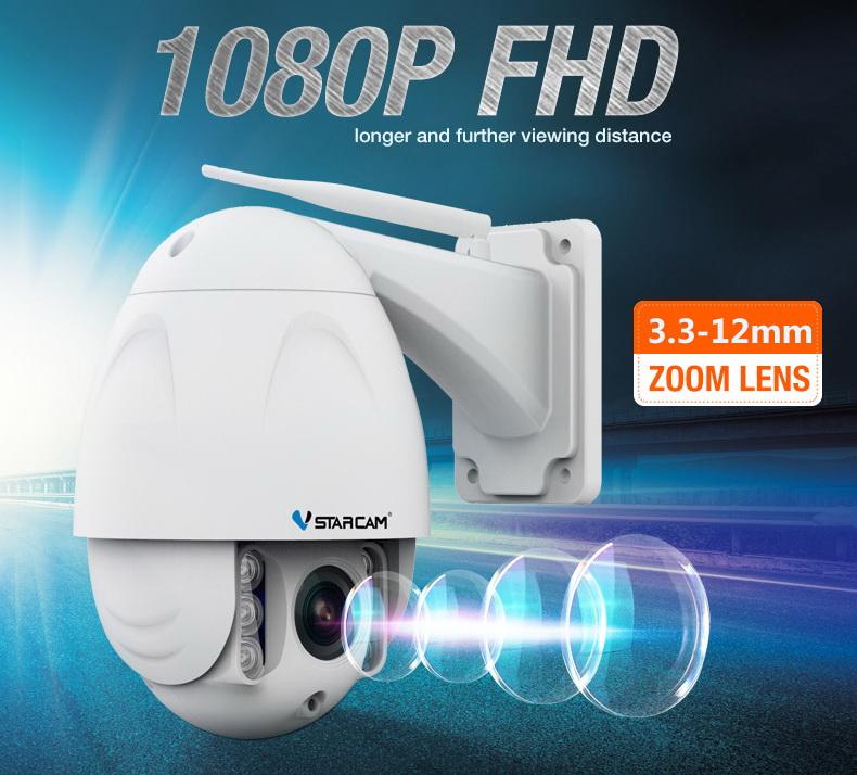Lumato V750ZR rotirajuća 1080P Full HD rotirajuća